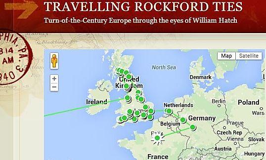 Traveling Rockford Ties
